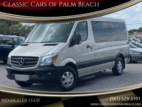 2015 Mercedes-Benz Sprinter Passenger for sale at Classic Cars of Palm Beach in Jupiter FL