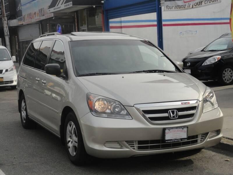 2007 Honda Odyssey for sale at MOUNT EDEN MOTORS INC in Bronx NY