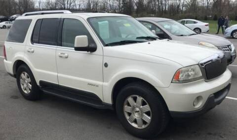2004 Lincoln Aviator for sale at D & J AUTO EXCHANGE in Columbus IN