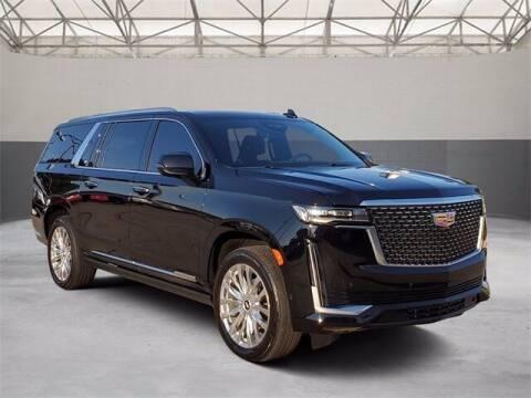 2021 Cadillac Escalade ESV for sale at Gregg Orr Pre-Owned Shreveport in Shreveport LA