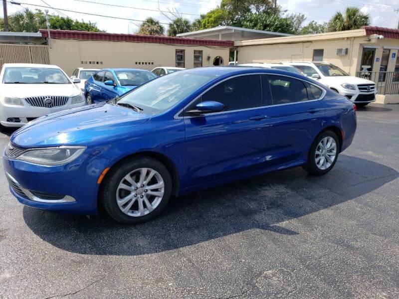 2015 Chrysler 200 for sale at KK Car Co Inc in Lake Worth FL