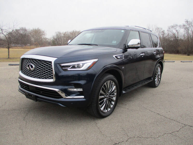 2019 Infiniti QX80 for sale at Triangle Auto Sales in Elgin IL
