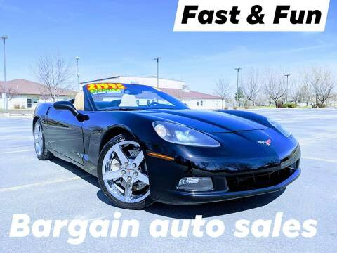 2007 Chevrolet Corvette for sale at Bargain Auto Sales LLC in Garden City ID