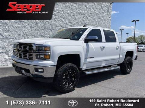 2015 Chevrolet Silverado 1500 for sale at SEEGER TOYOTA OF ST ROBERT in St Robert MO