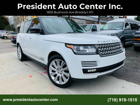 2014 Land Rover Range Rover for sale at President Auto Center Inc. in Brooklyn NY