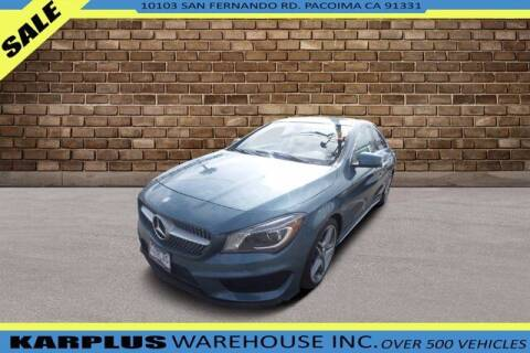 2014 Mercedes-Benz CLA for sale at Karplus Warehouse in Pacoima CA