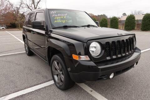 2016 Jeep Patriot for sale at Womack Auto Sales in Statesboro GA