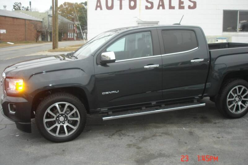 2018 GMC Canyon for sale at Weston's Auto Sales, Inc in Crewe VA
