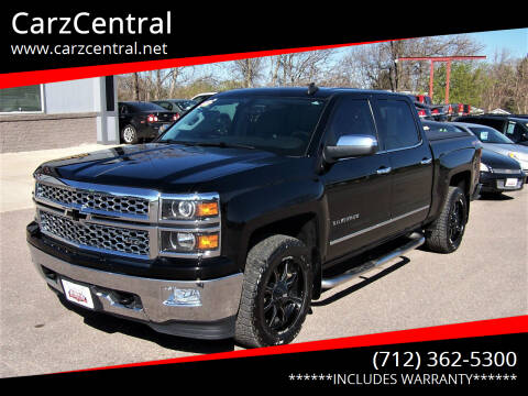 2015 Chevrolet Silverado 1500 for sale at CarzCentral in Estherville IA