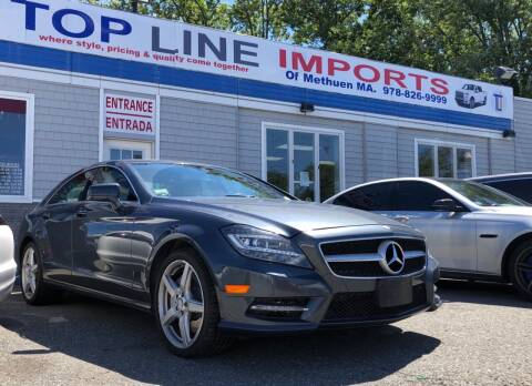 2014 Mercedes-Benz CLS for sale at Top Line Import in Haverhill MA