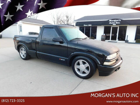 2000 Chevrolet S-10 for sale at Morgan's Auto Inc in Paoli IN