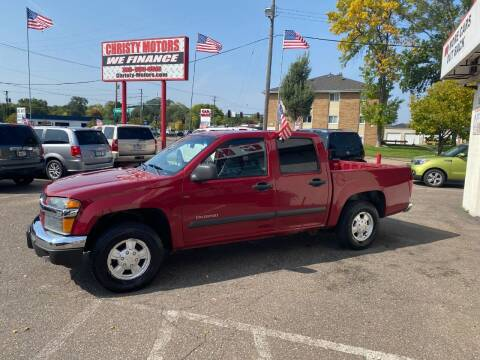 2005 Chevrolet Colorado for sale at Christy Motors in Crystal MN