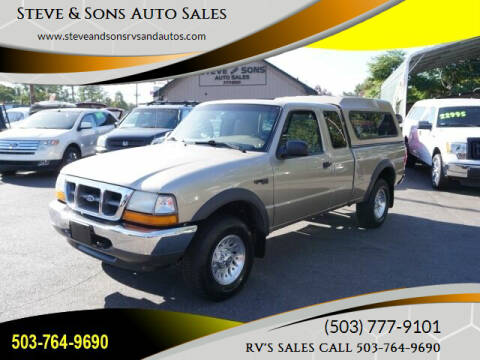 1999 Ford Ranger for sale at Steve & Sons Auto Sales in Happy Valley OR