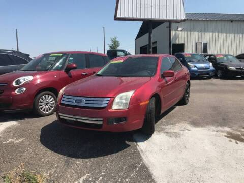 2006 Ford Fusion for sale at BELOW BOOK AUTO SALES in Idaho Falls ID