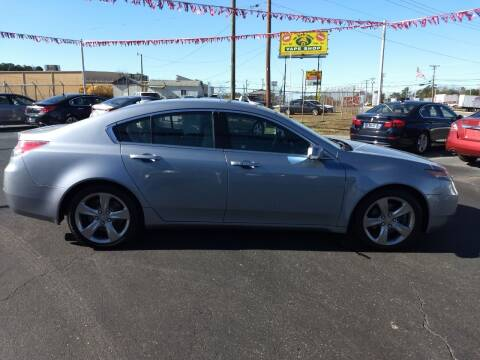 2012 Acura TL for sale at Kenny's Auto Sales Inc. in Lowell NC