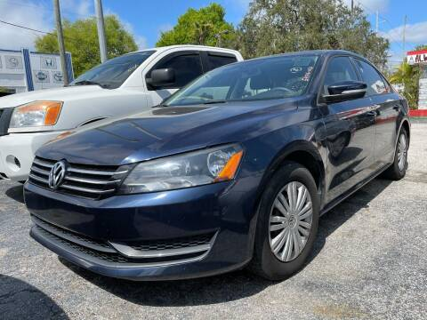 2014 Volkswagen Passat for sale at Always Approved Autos in Tampa FL