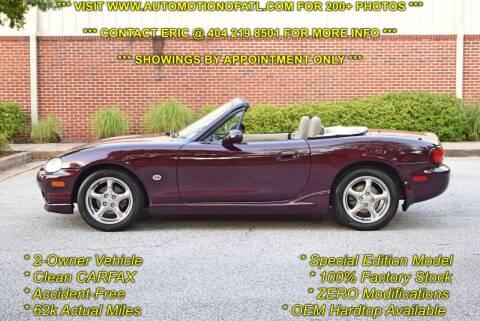 2000 Mazda MX-5 Miata for sale at Automotion Of Atlanta in Conyers GA