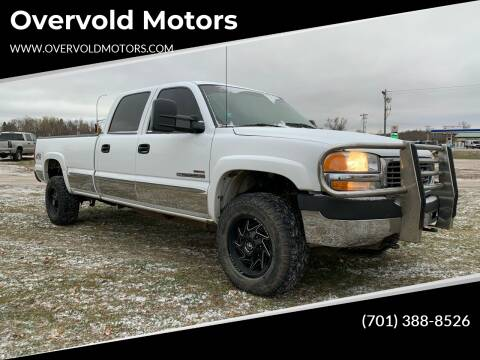 2002 GMC Sierra 2500HD for sale at Overvold Motors in Detriot Lakes MN