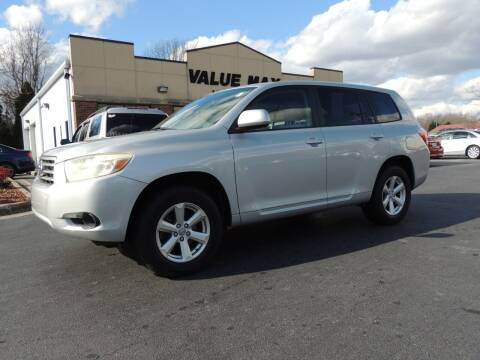 2008 Toyota Highlander for sale at ValueMax Used Cars in Greenville NC