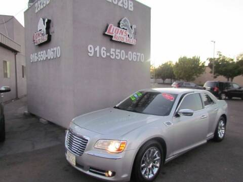 2012 Chrysler 300 for sale at LIONS AUTO SALES in Sacramento CA