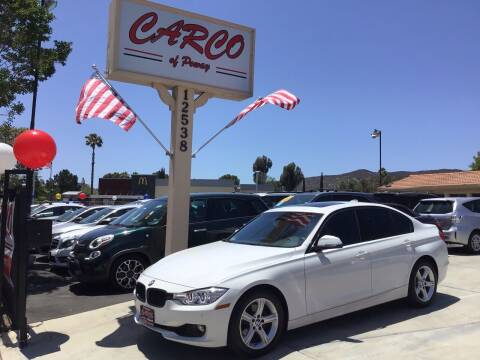 2015 BMW 3 Series for sale at CARCO SALES & FINANCE - CARCO OF POWAY in Poway CA
