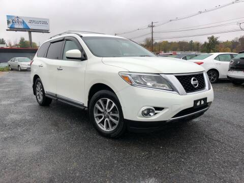 2013 Nissan Pathfinder for sale at Mass Motors LLC in Worcester MA