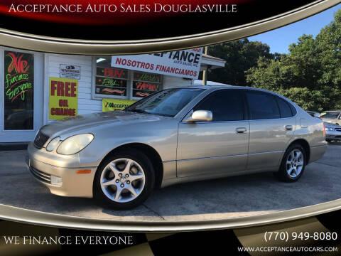 1999 Lexus GS 300 for sale at Acceptance Auto Sales Douglasville in Douglasville GA