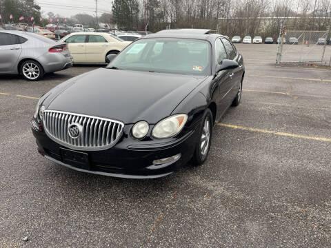 2009 Buick LaCrosse for sale at Certified Motors LLC in Mableton GA