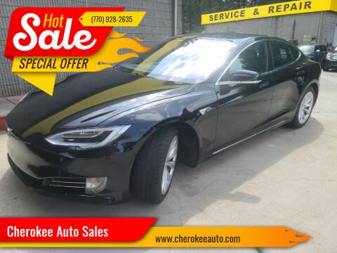 2018 Tesla Model S for sale at Cherokee Auto Sales in Acworth GA