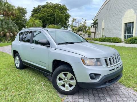 2014 Jeep Compass for sale at Citywide Auto Group LLC in Pompano Beach FL