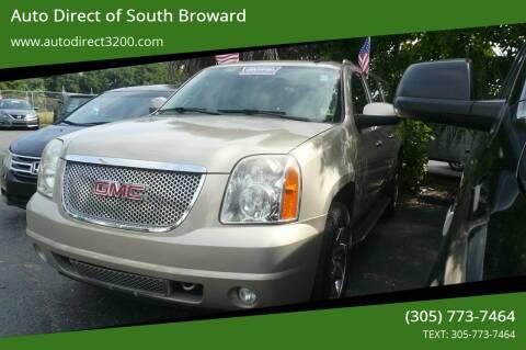 2008 GMC Yukon XL for sale at Auto Direct of South Broward in Miramar FL