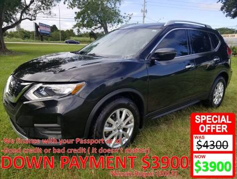 2017 Nissan Rogue for sale at AUTO COLLECTION OF SOUTH MIAMI in Miami FL