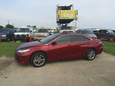 2017 Toyota Camry for sale at USA Auto Sales in Dallas TX