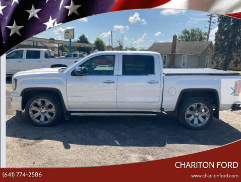 2017 GMC Sierra 1500 for sale at Chariton Ford in Chariton IA