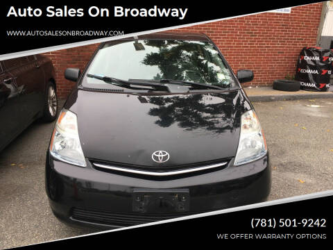 2006 Toyota Prius for sale at Auto Sales on Broadway in Norwood MA