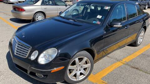 2008 Mercedes-Benz E-Class for sale at Trocci's Auto Sales in West Pittsburg PA