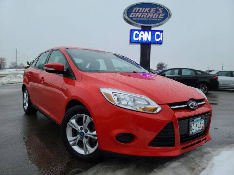 2013 Ford Focus for sale at Monkey Motors in Faribault MN
