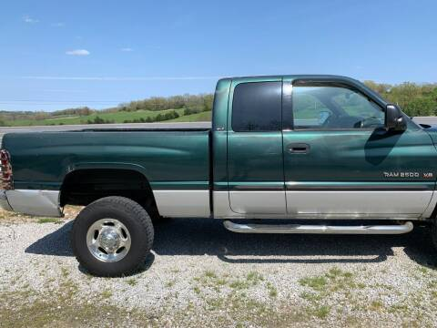 2002 Dodge Ram Pickup 2500 for sale at Steve's Auto Sales in Harrison AR