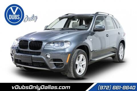 2013 BMW X5 for sale at VDUBS ONLY in Dallas TX