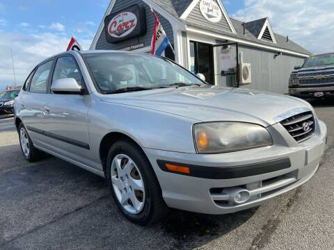 2006 Hyundai Elantra for sale at Cape Cod Carz in Hyannis MA