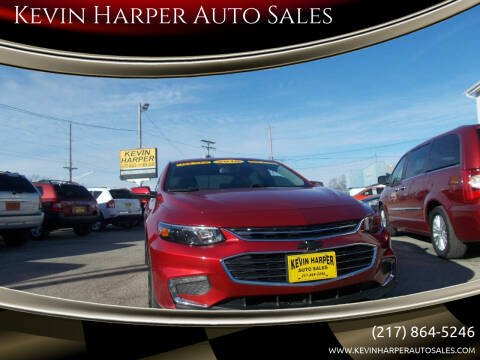 2016 Chevrolet Malibu for sale at Kevin Harper Auto Sales in Mount Zion IL