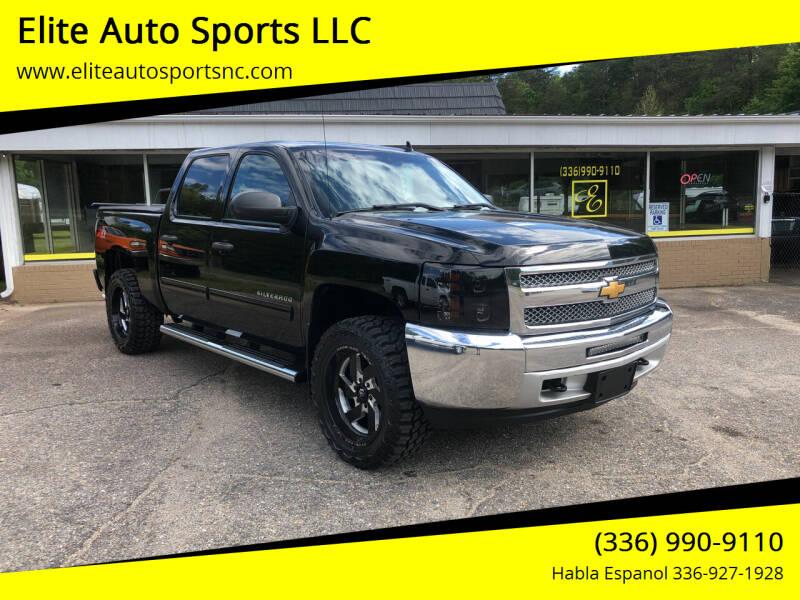 2013 Chevrolet Silverado 1500 for sale at Elite Auto Sports LLC in Wilkesboro NC