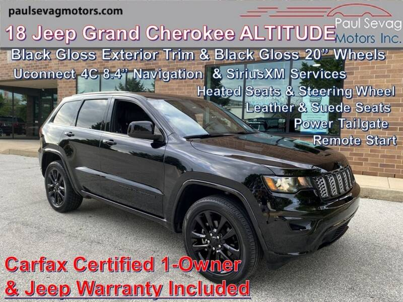 2018 Jeep Grand Cherokee 4x4 Altitude 4dr SUV - West Chester PA