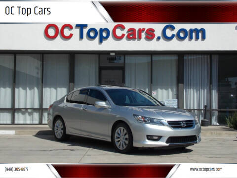 2015 Honda Accord for sale at OC Top Cars in Irvine CA