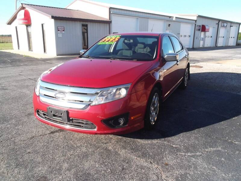 2010 Ford Fusion for sale at Dietsch Sales & Svc Inc in Edgerton OH
