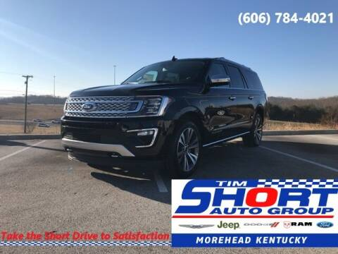 2021 Ford Expedition MAX for sale at Tim Short Chrysler in Morehead KY