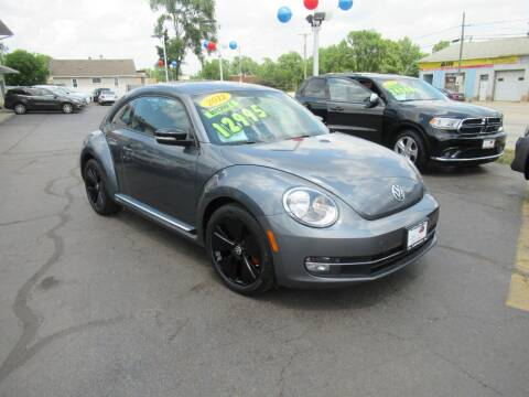 2012 Volkswagen Beetle for sale at Auto Land Inc in Crest Hill IL