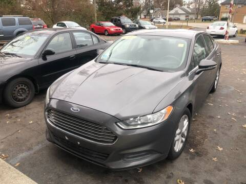2016 Ford Fusion for sale at Right Place Auto Sales in Indianapolis IN