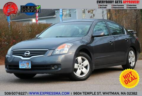 2008 Nissan Altima for sale at Auto Sales Express in Whitman MA