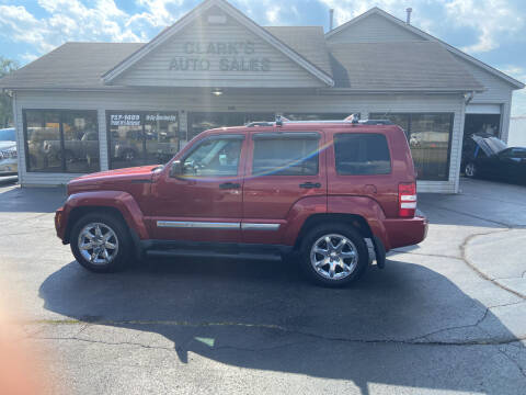 2012 Jeep Liberty for sale at Clarks Auto Sales in Middletown OH